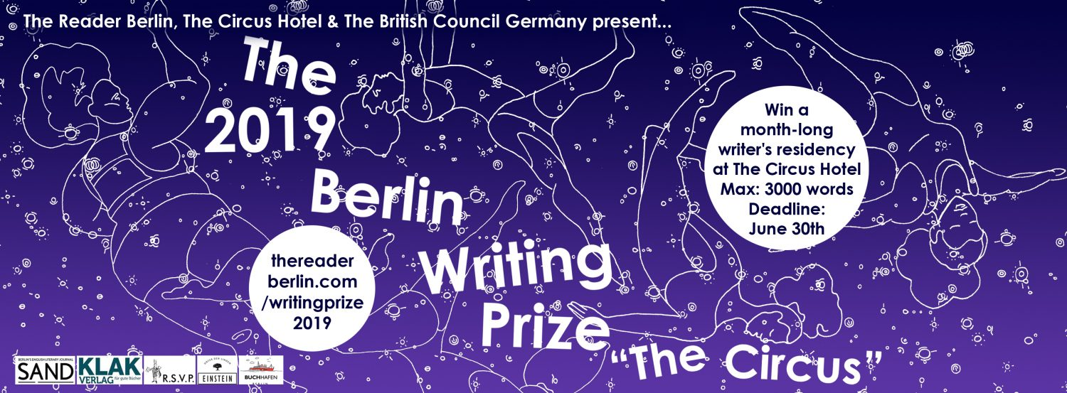 Berlin Writing Prize 2019 | The Reader Berlin