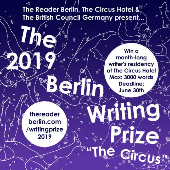 Berlin Writing Prize 2109