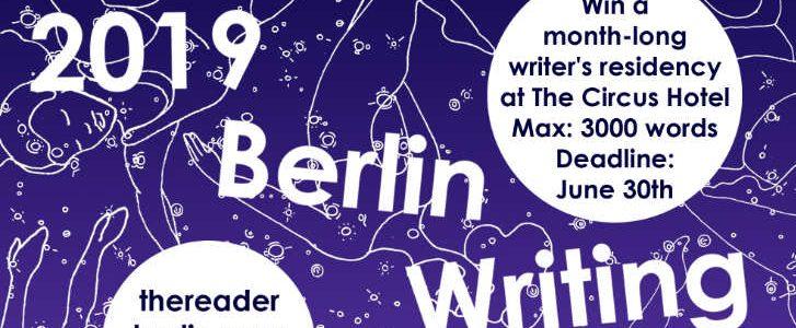 Berlin Writing Prize 2109